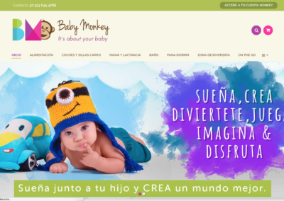 Baby Monkey | E-commerce
